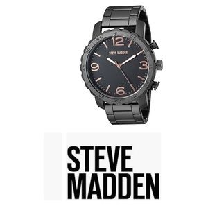 NWT Steve Madden Stainless Steel 6-Ounce W…